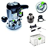 Festool Oberfräse OF 1010 EBQ-Plus Box-OF-S8/10xHW Systainer Sys 3 574383